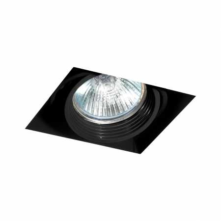 FALCON-1 BLACK DOWNLIGHT GU10 50W WITHOUT FRAME