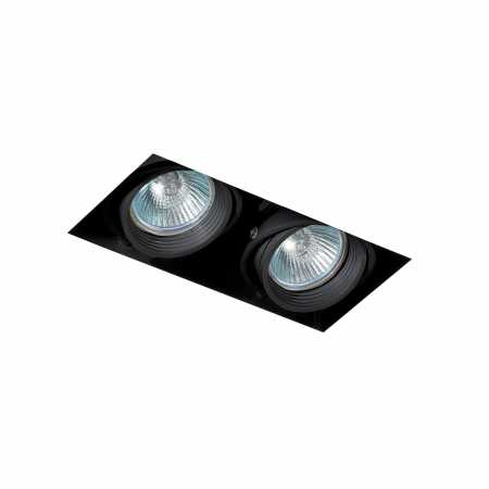 FALCON-2 BLACK DOWNLIGHT GU10 50W WITHOUT FRAME