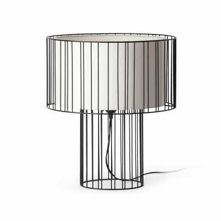 LINDA TABLE LAMP BLACK 1 x E27 100W