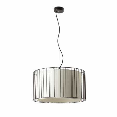LINDA BLACK PENDANT LIGHT 1 X E27 100W