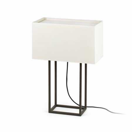 VESPER BROWN TABLE LAMP 2 X E27 20W