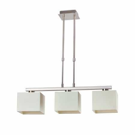 THANA TELESCOPIC WHITE PENDANT LAMP 3 X E27 40W