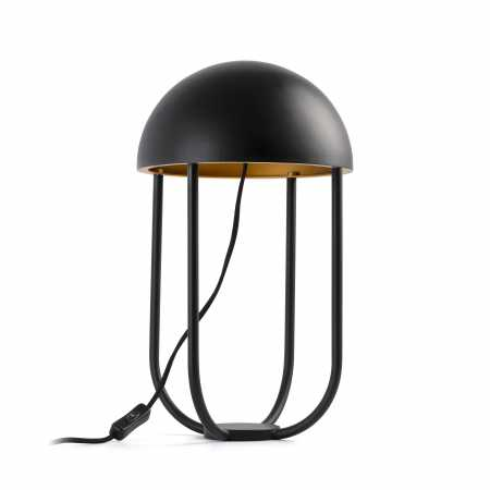 JELLYFISH BLACK TABLE LAMP