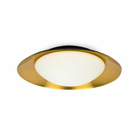 SIDE LED BLACK/COPPER CEILING LAMP 20W