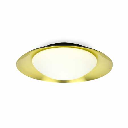 SIDE LED BLACK AND GOLD CEILING LAMP 20W