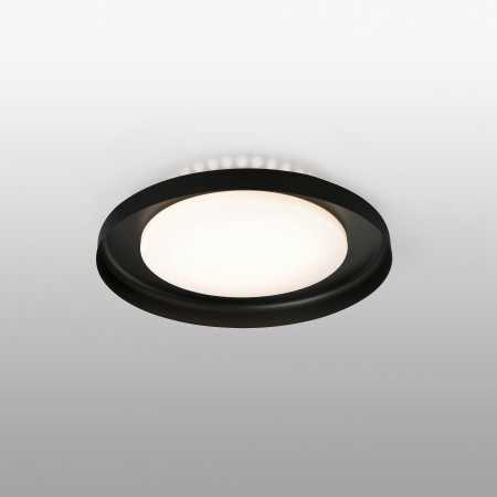 DOLME BLACK CEILING LAMP Ø400 LED 24W