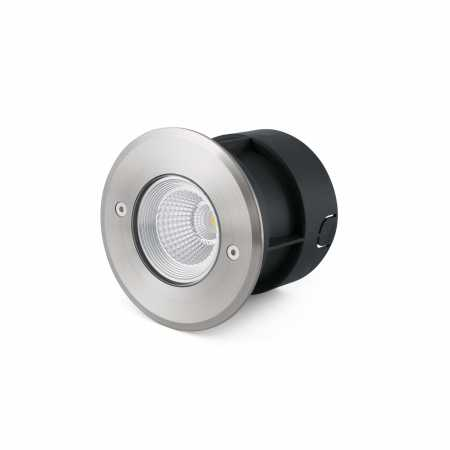 SURIA-3 LED INOX RECESSED LAMP 24° COB LED 3W 3000