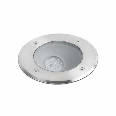 SALT LED ASYMMETRIC INOX RECESSED LAMP COB LED 9W
