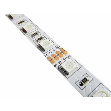 12 W/m LED juosta LUXSONN, 5050, 60 LED/m, RGB